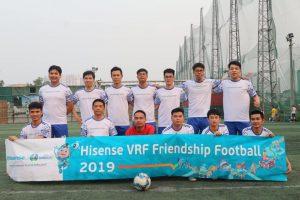Đội bóng CETECH tham gia giải bóng đá giao hữu